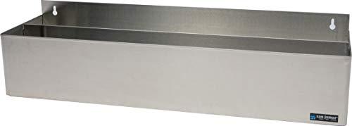 San Jamar B5532D Stainless Steel Double Rail Speed Rack Bottle Holder, 31-1/4