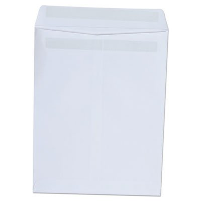 Self Seal Catalog Envelope, 9 x 12 White 100-Box