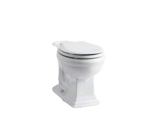 Kohler Bowl (Kohler K-4387-0 Memoirs Comfort Height Round-Front Bowl)
