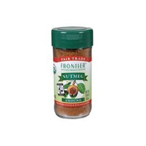 Frontier Herb Fair Trade Certified Organic Ground Nutmeg, 1.9 Ounce - 6 per case.