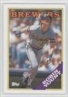 Robin Yount Milwaukee Brewers (Baseball Card) 1988 Topps #165