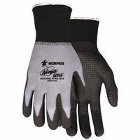 Memphis Glove 127-N96797XL 15 Gauge, Black Breathable Nitrile Foam - Extra Large