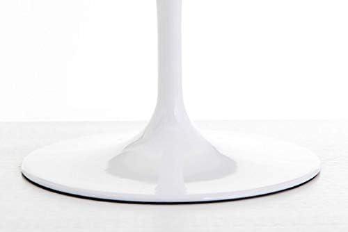 Sedile Taglia Unica Base in Acciaio Foderata in ABS e Cuscino Rivestito in Tessuto Rosso Rosse Arredamento SIL0226 Poltrona Bianco