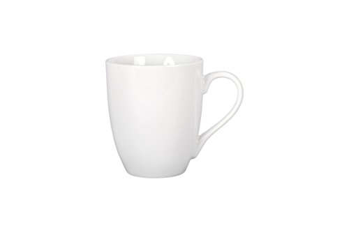 BIA Cordon Bleu 903109S4SIOC Classic Porcelain Bistro Mugs, White