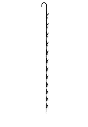FixtureDisplays Metal Clip On Strip Chips Hanger Clip Merchandiser Display Rack with Clips 12 Clips 18459-NF No