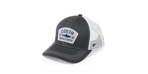 (Costa Del Mar Chatham Shark Trucker Hat-Navy)