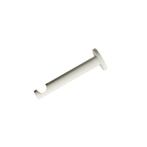 Madura Support berceau pour Tringle à rideaux ALMA Blanc 1, 9 x 12 cm 11182