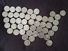1999-2008 D Complete UNC State Quarter 50 Coins Set Complete State Quarter Collection