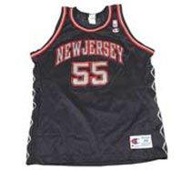 low priced c4313 79cf9 Amazon.com: New Jersey Nets Jason Williams #55 Jersey (Youth ...