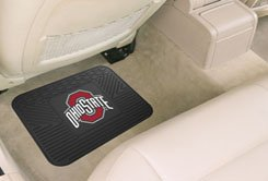 "Fan Mats Ohio State University Buckeyes Team Emblem Utility Mat/14""x17"""