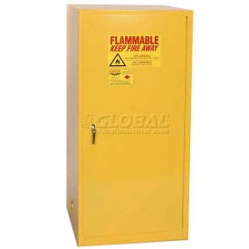 Eagle Flammable Liquid Safety Cabinet with Manual Close - 60 Gallon (1961)