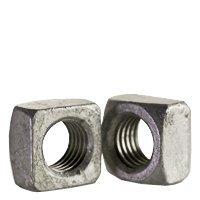 Grade 2 Steel Hot Dip Galvanized Quantity: 750 1//2-13 Square Nuts