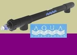 "40 Watt Uv Sterilizer W/2"" Unions Black 2900gph"