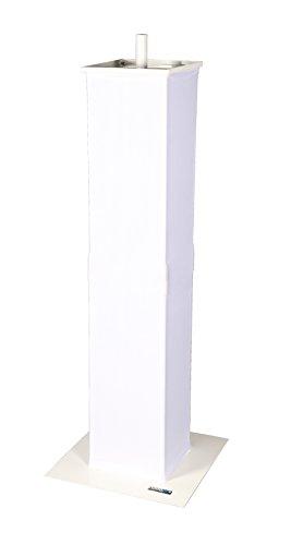 Novopro PS1+ White - NOVO-PS1+WHT - Lighting Podium Stand by Novopro