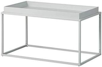Goed Verkopen Inter Link Design salontafel in industriële stijl metaal grijs geschikt voor binnen en buiten hOPs2HD