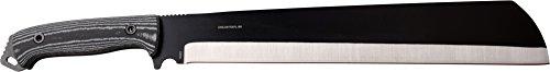 Evolution by Elk Ridge Machete 12.6 in Blade ERE-MHT001L-BK hunting-folding-knives, Black