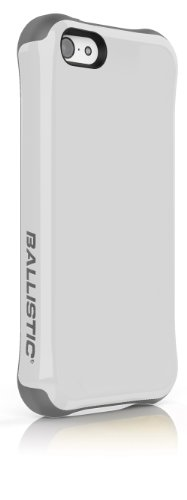 - Ballistic Aspira Series Case for iPhone 5c - Retail Packaging - White/Charcoal Gray