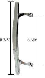 CRL Chrome Inside Pull; 6-5/8