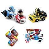 - Kids Ryan's World Indoor Fun (1) (2 Pack) Racers Cars Vehicle May Vary (1) Surprise Mystery Squishy (1) Mystery Figure & Bonus Dinosaur Train Mini