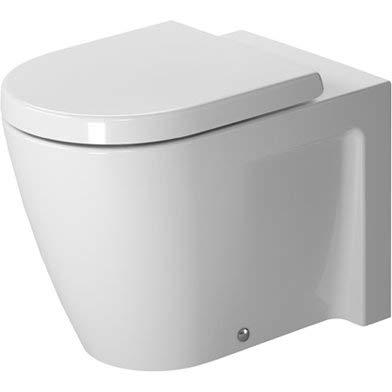 Starck 1 Floor - Starck 2 Floor Standing Back to Wall Round 1 Piece Toilet