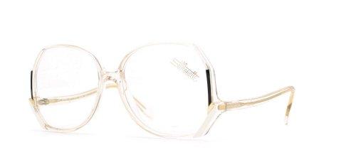 Silhouette 1163 1236 Clear Authentic Women Vintage Eyegla...