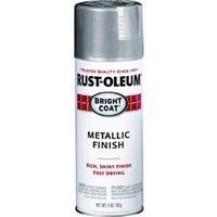 Rust-Oleum 7715830 Bright Coat Metallic Color Spray, Aluminum, 11-Ounce
