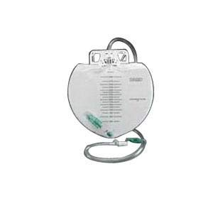 Bard Medical Closed System Urinary Drainage Bag, Swivel Hanger with Flexible Hook, 2000mL