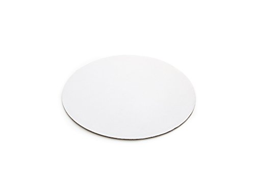 - Fox Run 4369 Round Cake Base, Cardboard, 12-Inch, Pack of 8