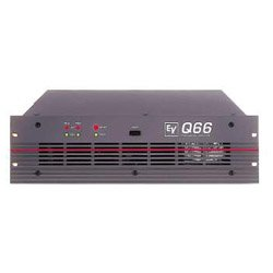 electro voice q66 stereo power amplifier musical instruments. Black Bedroom Furniture Sets. Home Design Ideas