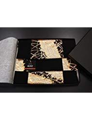 SHINSENDO Kimono Table Runner Japanese Traditional Fabrics Kinran (Pattern Name: Miyabi)