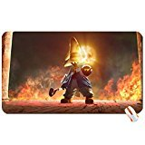Abstract final fantasy flames fantasy mage black fire vivi final fantasy ix 1920x1080 wallpaper big mouse pad computer mousepad Dimensions: 23.6 x 13.8 x 0.2