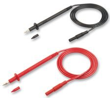 HIRSCHMANN TEST AND MEASUREMENT 972337002 TEST LEAD SET, BLK, RED, 1M, 1KV BPSFA1011428-972337002