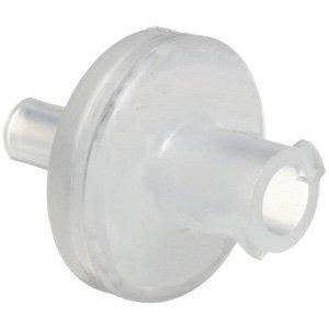 GE Healthcare 6779-1304 Whatman Puradisc Syringe Filter With Tube Tip, 0.45 µm Pore Size, Nonsterile, 13 mm Diameter, Polyvinylidene Difluoride (Pack of 100)