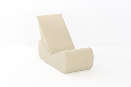 Nevada Gaming Chair in NATURAL Cotton Drill Comfy Living