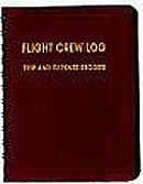 FLIGHT CREW LOG 3.47/Maroon, trip and expense record.
