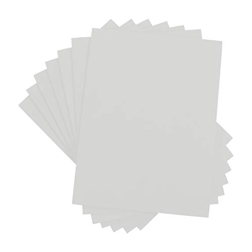 Houseables Crafts Foam Sheets, Art Supplies, 6mm Thick, White, 9 X 12 Inch, 10 Pack, Paper Scrapbooking, Cosplay, Crafting Foams Paper, Styrofoam, Foamie, for Kids, Boy Scouts, Halloween, Cushion ()