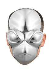 Disguise Costumes Alien Chrome Mask, Adult