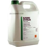 Ilford Hypam, Non-Hardening Rapid Fixer for Film & Paper, 5 Liter Container.