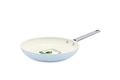 GreenPan Padova Ceramic Non-Stick 10Pc Cookware Set, Light Blue