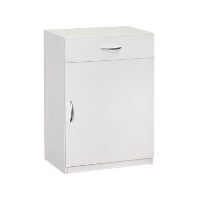 H x 24 in. W x 15.25 in D White Laminate 1  sc 1 st  Amazon.com & Amazon.com: 34.75 in. H x 24 in. W x 15.25 in D White Laminate 1 ...