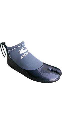 Atan Madi 3MM GBS Split Toe Wetsuit Shoes Black - Unisex