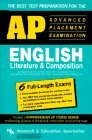 img - for AP English Literature & Composition (REA) - The Best Test Prep for the AP Exam (Test Preps) book / textbook / text book