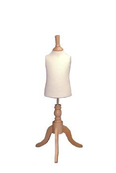 Childrens 0-1yrs Dressmakers Tailors Dummy - Dressmaking Display Mannequin Supplied on a Wooden Tripod Stand The Shop Fitting Shop