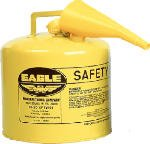 Eagle Diesel Can 5 Gal Meets Osha & Nfpa Code 30 Requirements for sale  Delivered anywhere in USA