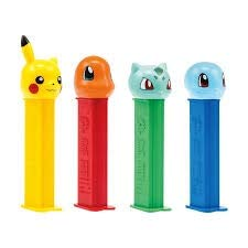PEZ Candy Pokémon Assortment Blister Pack (Dispenser Pack of 12)