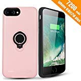iPhone 7 Plus Battery Case - Hathcack 7200mAh Portable Battery Charging Case for iPhone 8 Plus/7 Plus/6 6s Plus Extended...