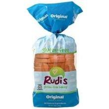 Rudis Gluten Free Original Sandwich Bread, 18 Ounce - 8 per case. by Rudis
