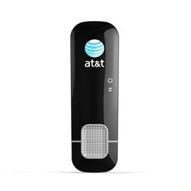 AT&T Sierra Wireless USBconnect Shockwave U308 3G 4G USB Modem GSM Used - Black