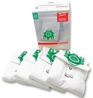 Cleva Cutting-Edge Impressive-Power MIELE - 7282050 - DUSTBAGS, U GREEN, 4 BAGS+FILTERS - Pack Of 4