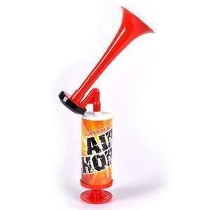 3 PACK MINI SUPER BLAST AIR HORNS - Manual Pump - Never runs out!!